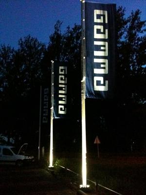 Limeta B.V. | BannerVision vlaggenmast verlichting - architectenweb.nl