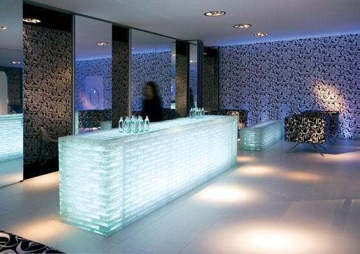 Glasblokken In Badkamer : Bouwglas gesman b v glazen bouwstenen glasblokken