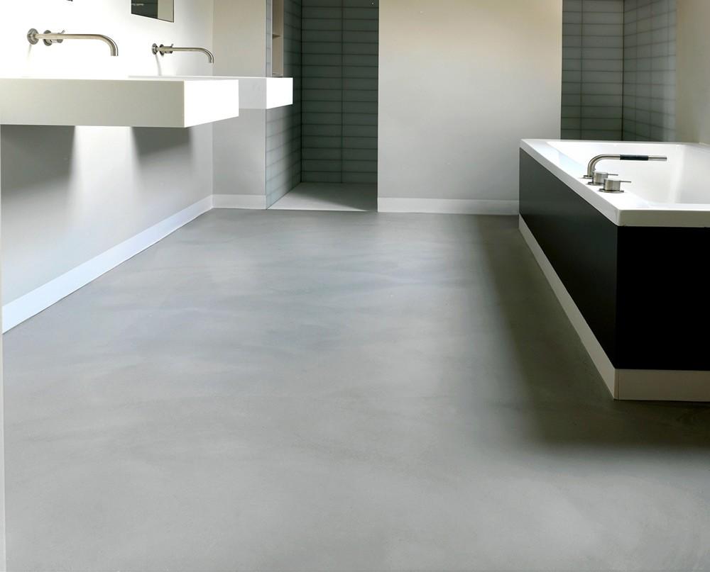Gietvloer specialist drt gietvloeren de gietvloer een ideaal renovatieproduct - Moderne betegelde vloer ...