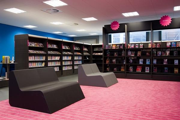 Kwint architecten   Interieur Bibliotheek Vleuterweide Utrecht ...