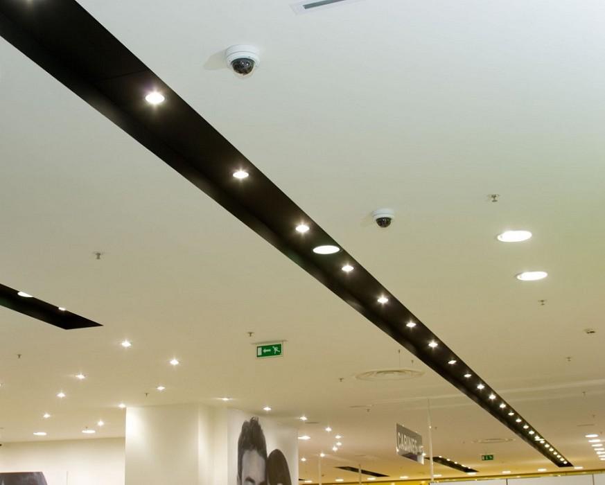 Verlaagd Plafond Met Led Verlichting. Simple Mycosmos Verlichting ...