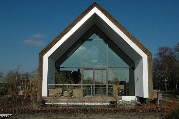 Arches architecten bna rieten villa for Moderne villa architectuur