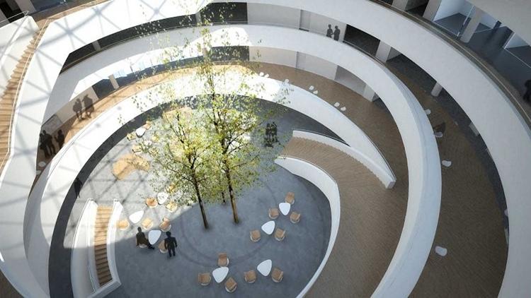 Moesgaard museum aarhus officieel geopend - Ontwerp entree spiegel ...