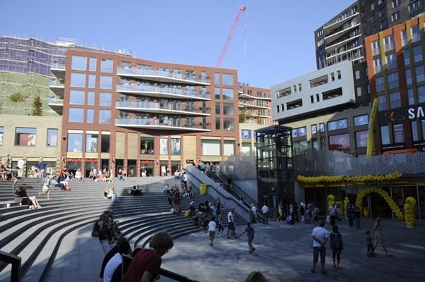 Eerste fase centrum Nieuwegein klaar - architectenweb nl