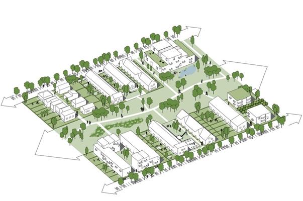 Open stedenbouw voor annas hoeve architectenweb.nl