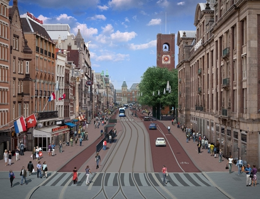 Definitief ontwerp voor entree amsterdam architectenweb