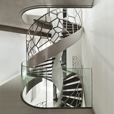 Eestairs trappen en balustrades cells by eestairs organische balustrade - Balustrade trap ...