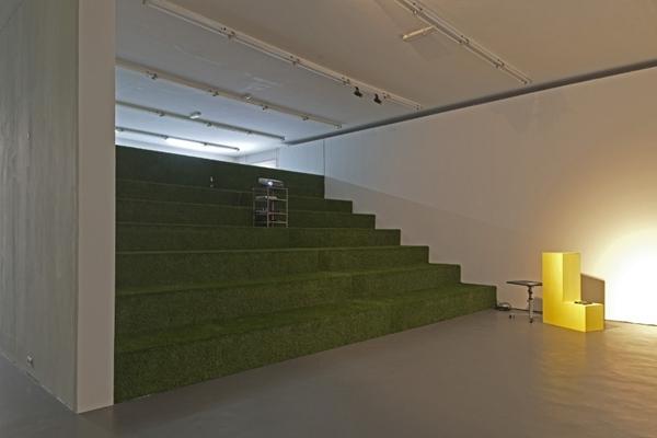 Kantoor witte de with heeft modulair interieur - Kantoor modulaire interieur ...