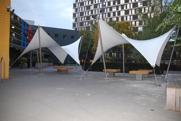 Id garden products design overkapping - Gespannen terras ...