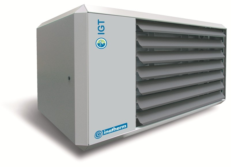 Gasgestookte luchtverwarmer
