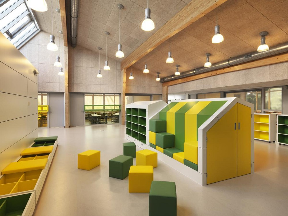 Kdv architectuur brede school de maasparel interieur - Interieur modern design ...
