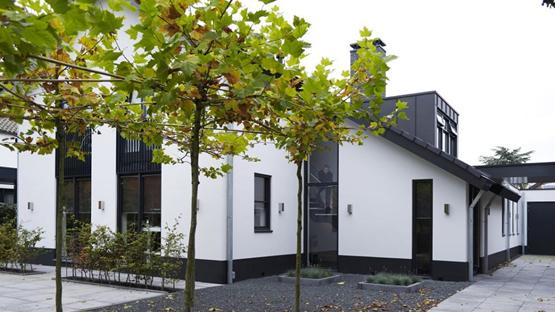 Enzo architectuur & interieur ® bedrijfspand met drie