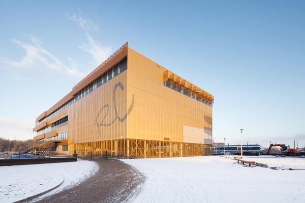 integraal ontwerpteam realiseert reeshof college - architectenweb.nl