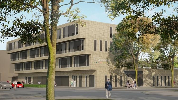 Start bouw brede school het open venster for Lantaren venster rotterdam agenda