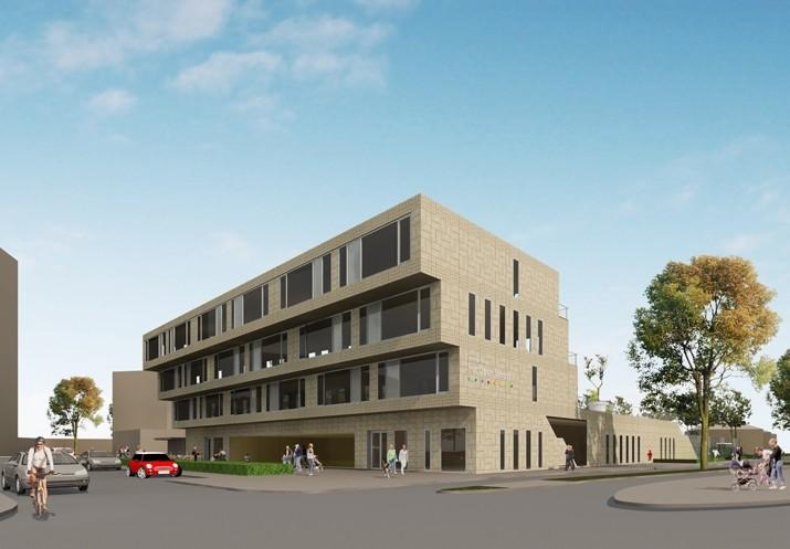 Start bouw brede school het open venster for Het open venster rotterdam