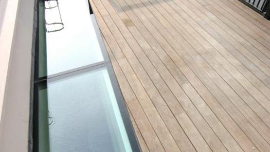 Glazing vision europe beloopbaar glas voor dakterras