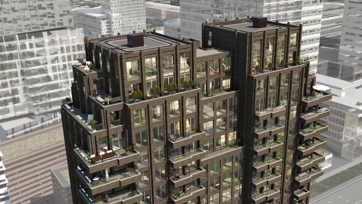 Slaapbank Manhattan Vd.Inbo Presenteert Ontwerp Woontoren Aan Zuidas Architectenweb Nl