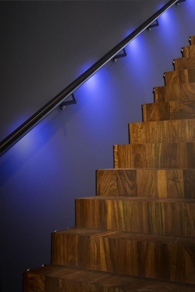 LUMIGRIP | Leuningen met LED verlichting | Lumigrip RVS trapleuning ...