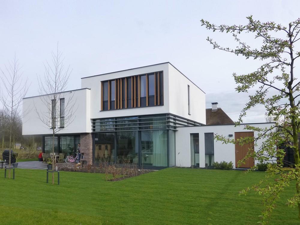 Maas architecten lochem woonhuis rotterdam hillegersberg for Woonhuis rotterdam