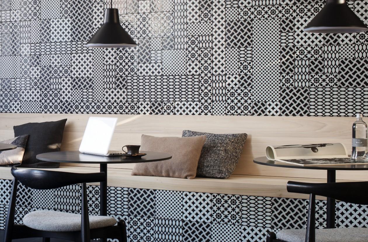 Decor d'Antan, gedecoreerde wand- en vloertegels - architectenweb.nl