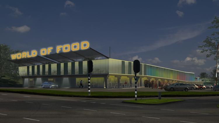 Bouw world of food amsterdam van start for Interieurarchitecten nederland