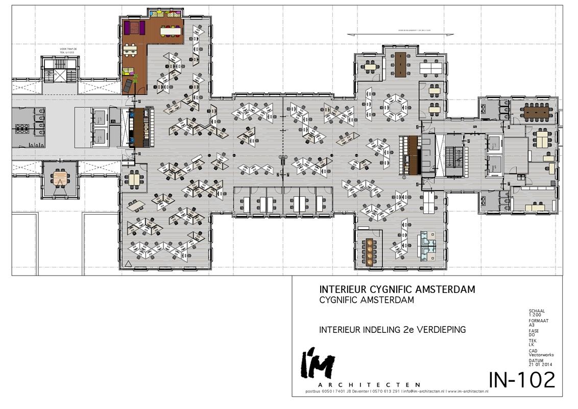 Kantoorvloer Met Speelse Compositie Architectenwebnl