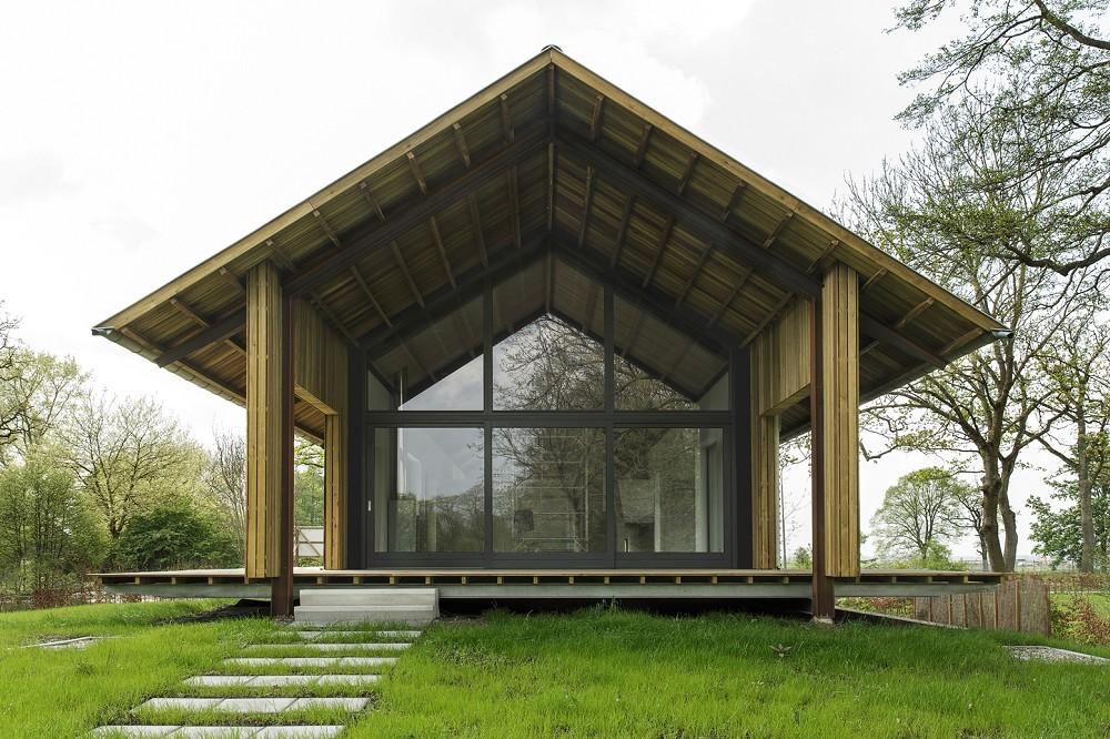 Schuurwoning Bouwen Kosten : Foreco dalfsen schuurwoning architectenweb