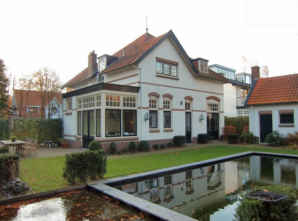 Architektenbureau van l ben sels uitbreiding en verbouwing monumentaal woonhuis - Uitbreiding huis glas ...