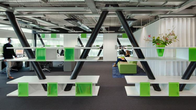 Uitgepuurde stijl voor eigen kantoor imore architectenweb