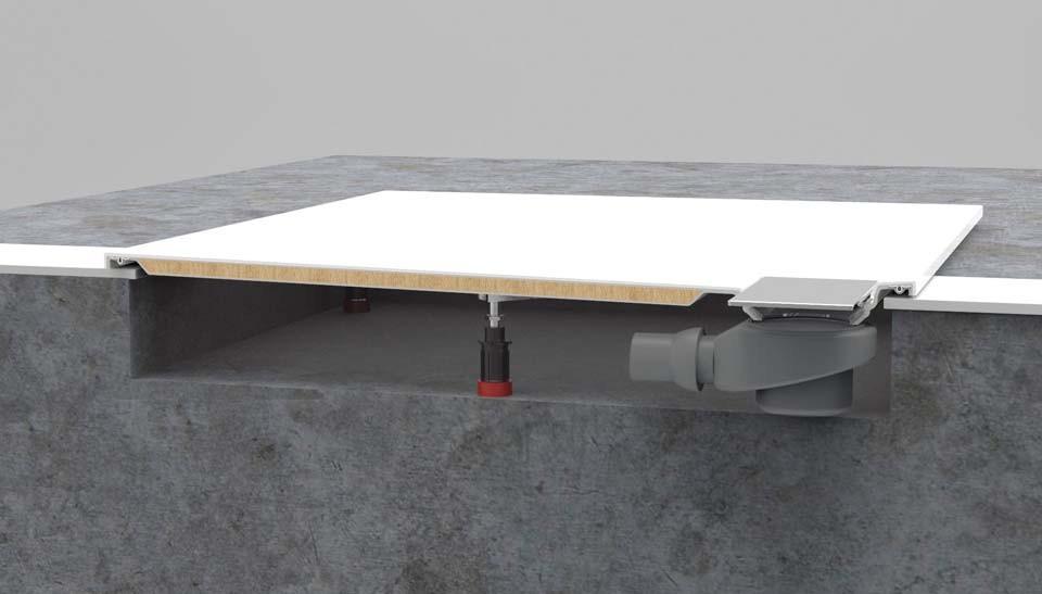 villeroy boch architectura metalrim ultradunne stabiele douchevloeren. Black Bedroom Furniture Sets. Home Design Ideas