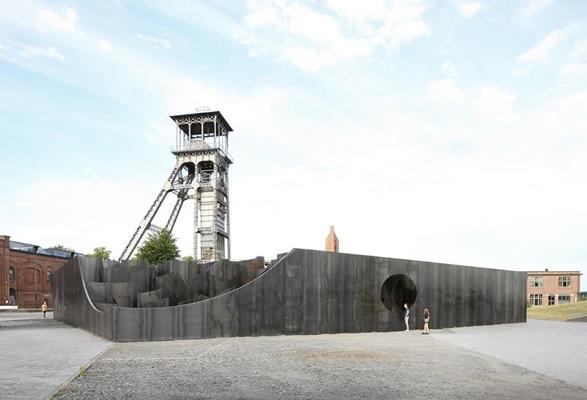 Vervreemdend doolhof van gijs van vaerenbergh architectenweb.nl