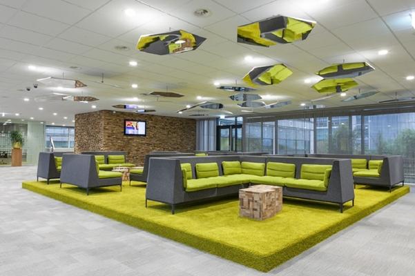 The senator group rabobank schiphol - Kantoor modulaire interieur ...