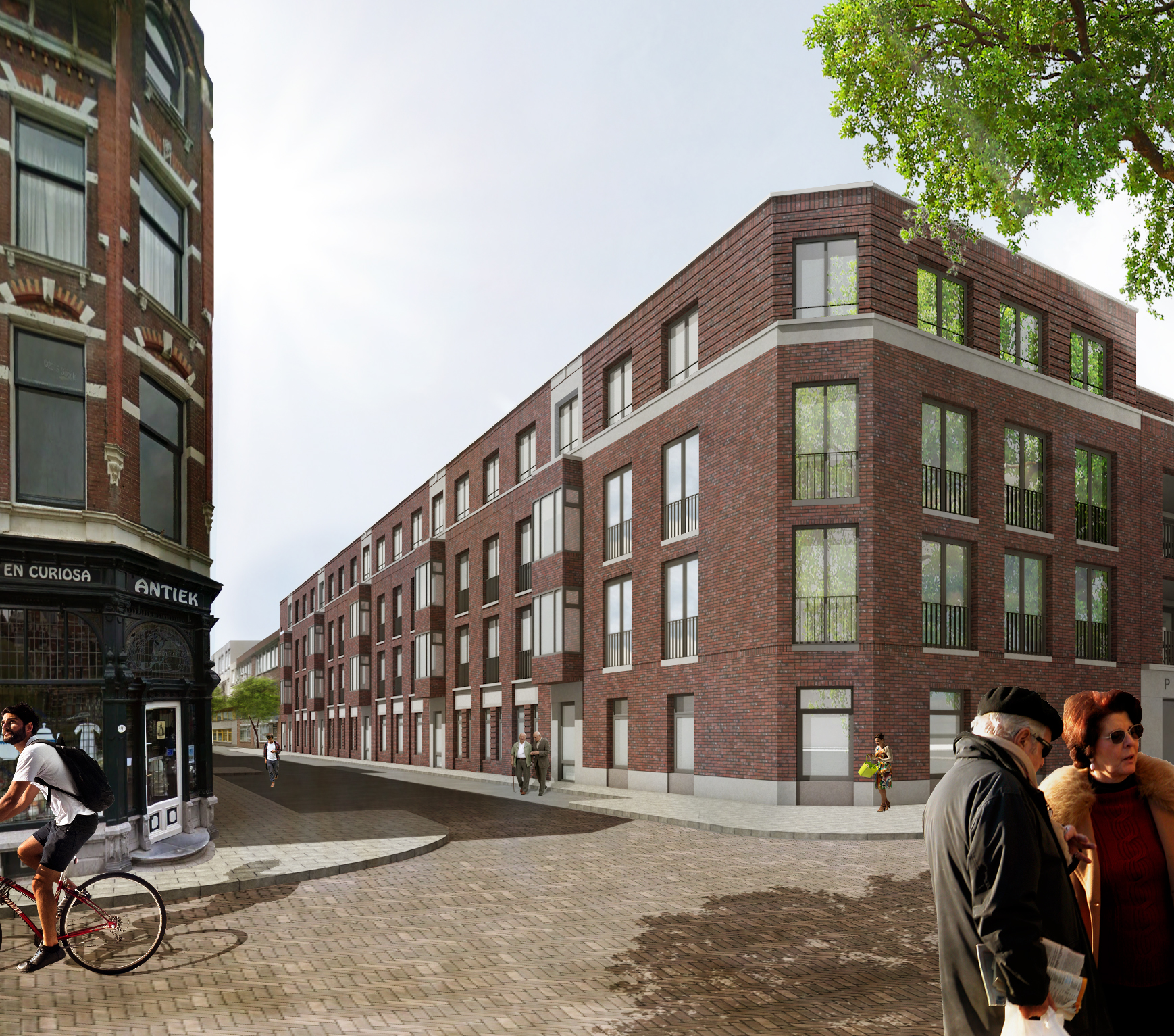 Zorgcomplex met nadruk op wonen for Direct wonen rotterdam
