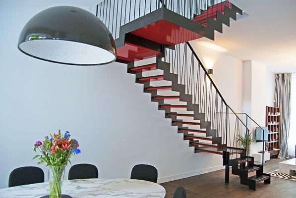 Van bruchem staircases moderne trappen architectenweb