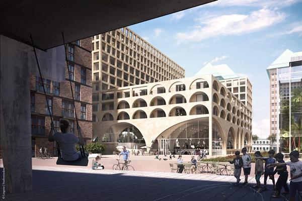 Slaapbank Manhattan Vd.Studioninedots Ontwerpt West Beat Amsterdam Architectenweb Nl