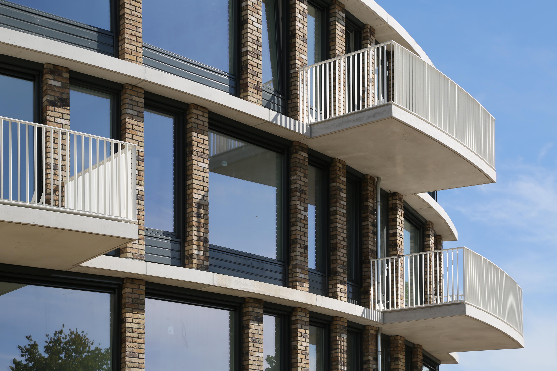 Mix architectuur b v nieuw appartementengebouw als paviljoen aan het park - Eigentijds gebouw ...