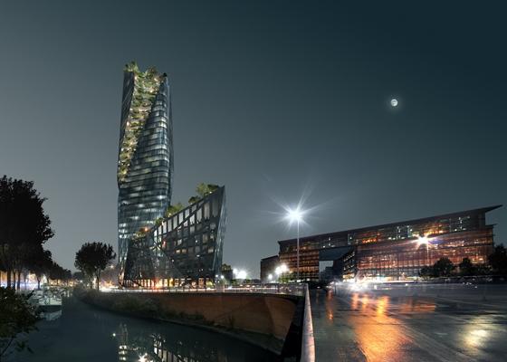 Slaapbank Manhattan Vd.Libeskind Legt Groen Lint Rond Wolkenkrabber Architectenweb Nl