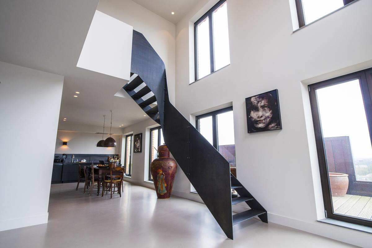 Van bruchem staircases stalen trap amsterdam architectenweb