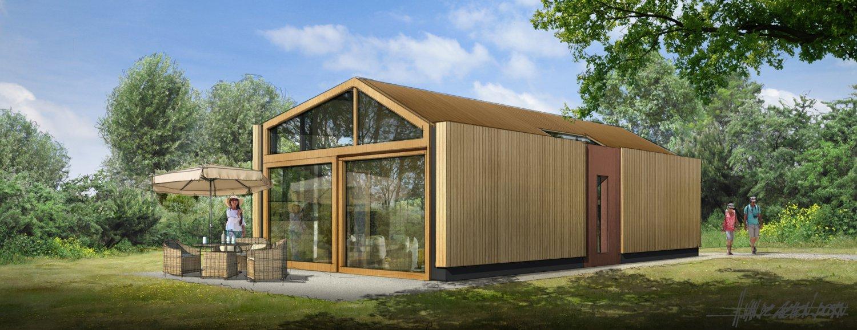 Energieneutrale kleine woningen voor dorpen in oosten for Huis energieneutraal
