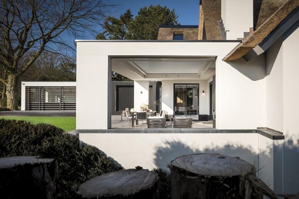 Kabaz moderne villa laren architectenweb.nl