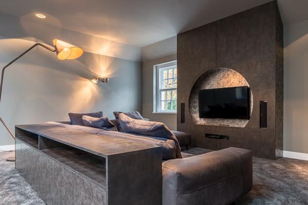Luxe Tv Meubel : Decolegno bv luxe villa met inloopkasten van decoratief