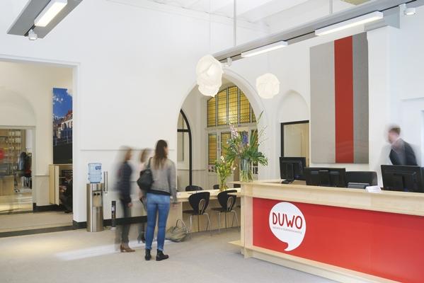 woningen en kantoor duwo in oud faculteitsgebouw - architectenweb.nl