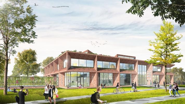 De zwarte hond ontwerpt praktijkschool lmc pro architectenweb.nl
