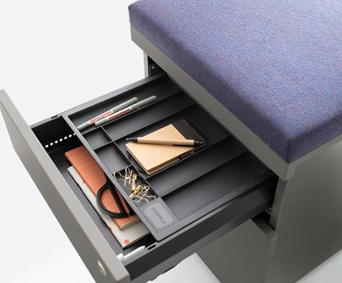 Luudo design furniture rolblok trolley caddie for Ladenblok klein