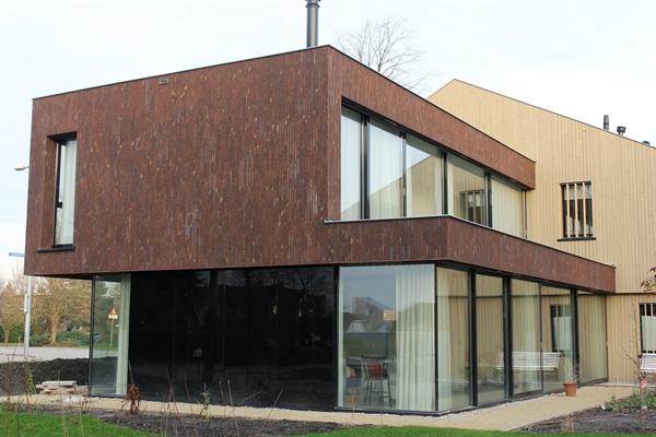 Steenstrips Baksteen Buiten : Steenhandel gelsing steenstrips van baksteen architectenweb