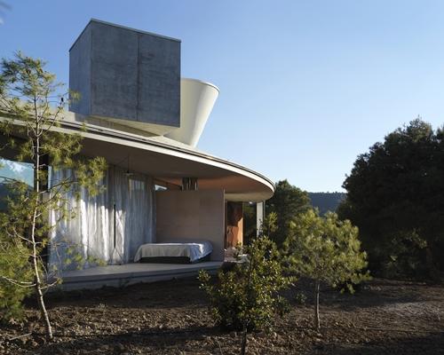 Een minimalistisch vakantiehuis voor maximale natuurbeleving