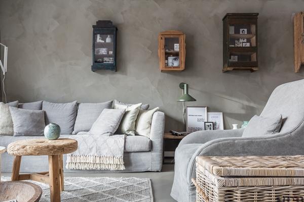 kalkverf keuken cheap krijtverf muur impression lifestyle