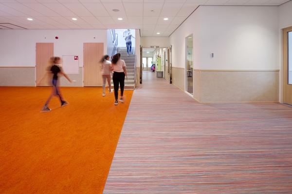 Forbo flooring marmoleum lambrisering architectenweb