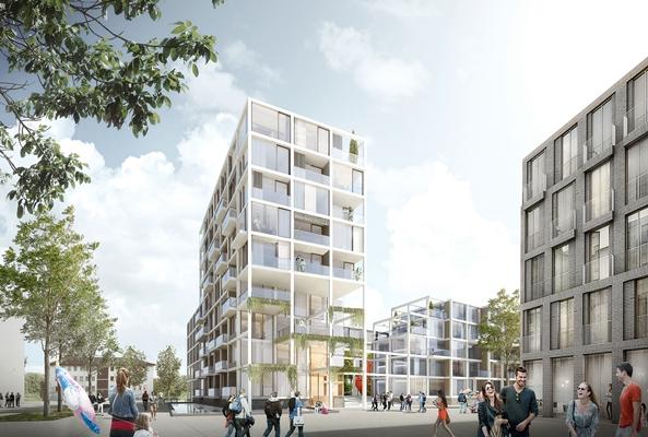 Eerste prijs voor de zwarte hond in regensburg architectenweb.nl