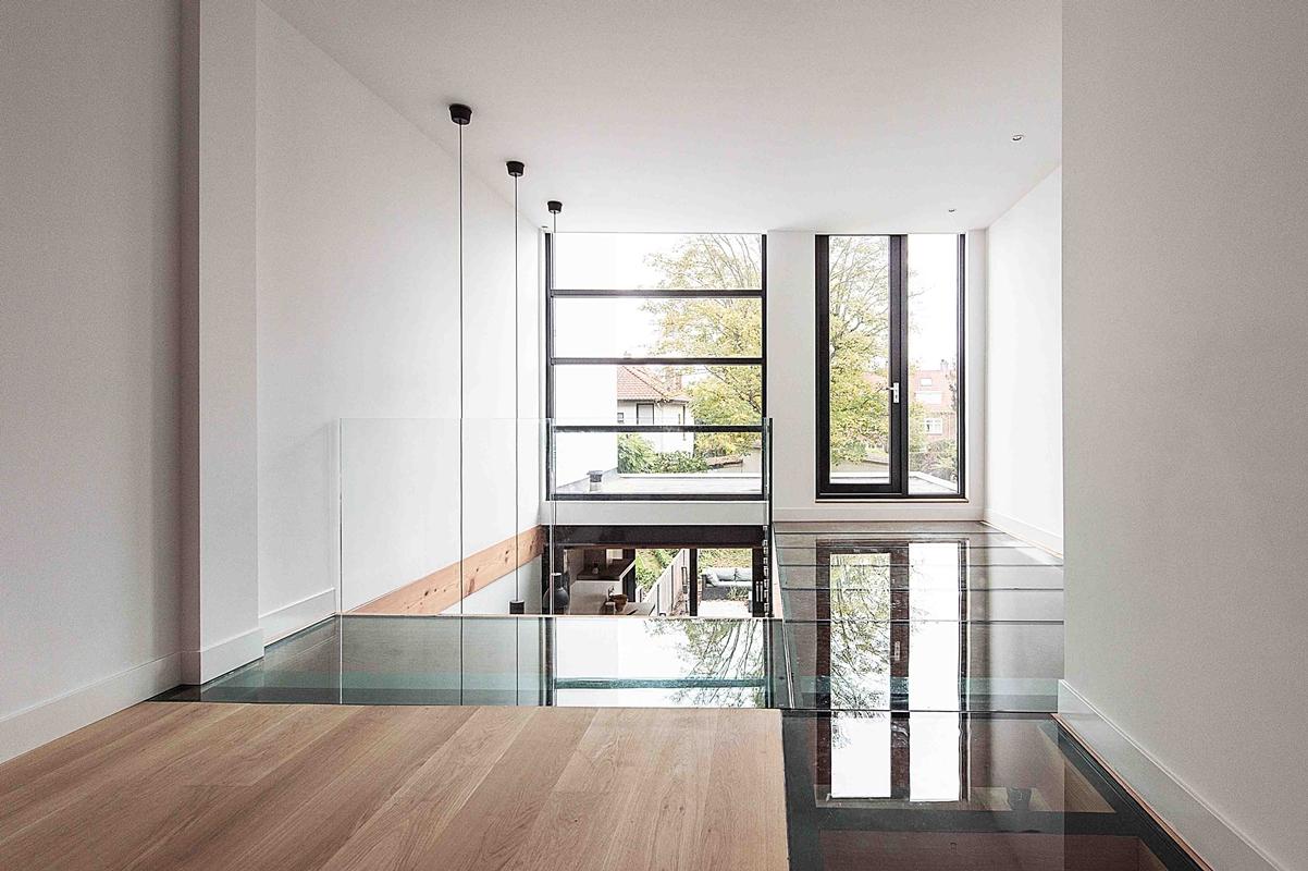 Glazen Vloer Huis : Glazen vloer voor herenhuis in overveen architectenweb